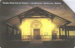 Bolivien - Bolivia - Entel - Urmet 21 - Religious Building - Temple Santa Ana De Velasco - Bolivie