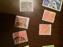 BRASILE LAVORO VARIETA' CENTRATURA 1 VALORE - Postzegels