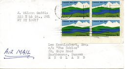 USA. N°827 De 1967 Sur Enveloppe Ayant Circulé. Canada. - Etats-Unis