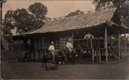 ! Alte Ansichtskarte Foto, Photo, Santa Isabel, Malabo, Äquatorial Guinea, Africa, Afrika - Guinée Equatoriale