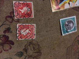 DANIMARCA REGINA ROSSO 1 VALORE - Postzegels