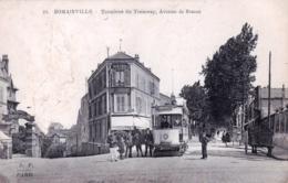 93 - Seine Saint Denis - ROMAINVILLE - Terminus Du Tramway Avenue De Brazza - Romainville
