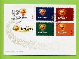 Portugal 2003  FDC,,  UEFA ---  EURO  2004 - 1910-... République