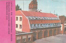 87753- MUSEUM, POCKET CALENDAR, 1986, RUSSIA - Small : 1981-90