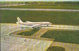 87762- PLANE, TAROM COMPANY ADVERTISING, POCKET CALENDAR, 1986, ROMANIA - Small : 1981-90