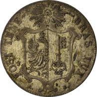 Monnaie, SWISS CANTONS, GENEVA, 25 Centimes, 1847, Genève, TTB+, Billon, KM:135 - Zwitserland