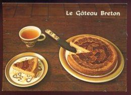 CPM Non écrite Recette De Cuisine Le Gâteau Breton - Recetas De Cocina
