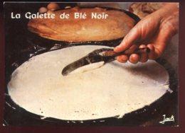 CPM Non écrite Recette De Cuisine La Galette De Blé Noir - Recetas De Cocina