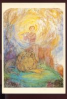 CPM Non écrite Arts Peintures De Margarita SEBASCHNIKOWA-Woloschina Kind Und Löwe Enfant Et Lion - Peintures & Tableaux