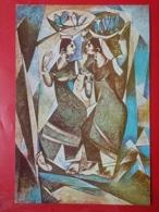 KOV 484-6 - PEINTURE, PENTRE, ART, Fisher Women, Santosh - AIR INDIA - Peintures & Tableaux