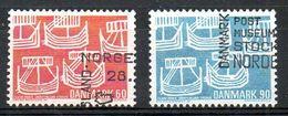 DANEMARK. N°486-7 Oblitérés De 1969. Communauté Scandinave. - Joint Issues
