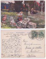 NEPTUN - Take Care, Nettuno, Donadini Illustratore, Illustrateur, 1908 - Donadini, Antonio