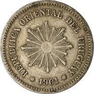 Monnaie, Uruguay, 5 Centesimos, 1901, Uruguay Mint, Paris, Berlin, Vienna, TTB - Uruguay