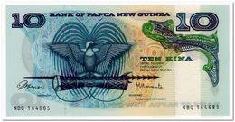 PAPUA NEW GUINEA,10 KINA,1985,P.7,AU-UNC - Papua Nueva Guinea