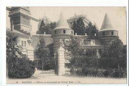 MADRID : Fabrica De Electricidad Del Palacio Real - Edicion LL N°12 - Madrid