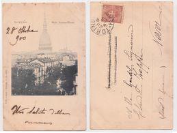 Torino - Mole Antonelliana, N.2462, Viaggiata 1900 - Mole Antonelliana