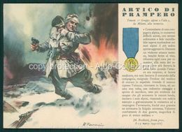 Militari  Medaglia D' Oro Nr.98 Artico Di Prampero FG V341 - Italia