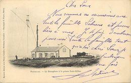- Loire Atlantique -ref-C145- Préfailles - Le Semaphore  à La Pointe Saint Gildas - Semaphores - Phares - - Préfailles