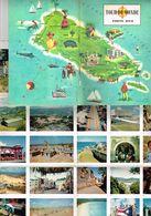 Revue Album - Tour Du Monde N°57 Porto Rico Océan Atlantique Mer Des Antilles Sel Ananas Aide Self Help Avec 25 Images - Viajes