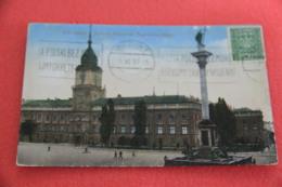 Poland Warszawa Varsovie Zamek Kolumna 1930 - Polen