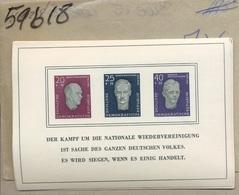 1958. BK.15.  Cote: 60,-euros.  Coin Sup Plié. (très Petit) - [6] République Démocratique