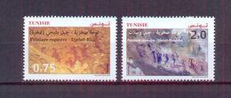 Tunisia/Tunisie 2020 - Rock Paintings : Djebel Ousselet (Oueslatia) - Djebel Bliji (Tamaghza) - Stamps 2v - MNH** - Tunisia