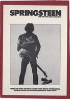 SPRINGSTEEN  BRUCE  CHANTEUR USA - Chanteurs & Musiciens