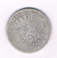 2 FRANCS 1868  BELGIE /4242/ - 08. 2 Francs