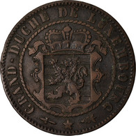 Monnaie, Luxembourg, William III, 10 Centimes, 1870, Utrecht, TTB, Bronze - Luxembourg