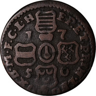 Monnaie, LIEGE, John Theodore, Liard, 1750, Liege, TB+, Cuivre, KM:155 - Belgique