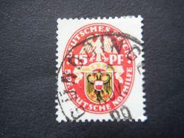 Timbre Deutsches Reich 1929 - Blason 15 Pfennig - Germany