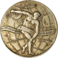France, Médaille, Salon Du Phonographe, 30 Bd Des Italiens, Paris, TTB - Otros