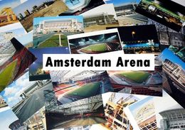 27x AMESTERDAM JOHAN CRUIJFF ARENA STADIUM STADE ESTADIO STADION STADIO POSTCARD ***RARE*** - Football