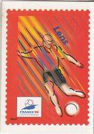 4 Cartes Postales Illustrées  Prêt-timbrées  Sur La XVIé COUPE DU MONDE  DE FOOTBALL - Football