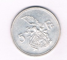 5 FRANCS 1929 LUXEMBURG /4249/ - Luxembourg