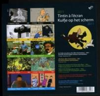 België BL192 ON - Kuifje Op Het Scherm - Tintin à L'écran - Strips - BD - Comics - Hergé - Ongetand - Non Dentelé - Belgique