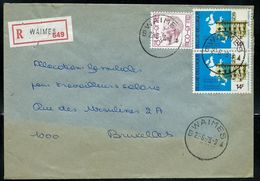 Doc. De WAIMES - B # - Du 22/06/78 En Rec. - Marcophilie