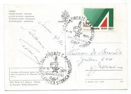 XW 2316 Firenze - Giardino Di Boboli - Mostra Filatelica Storica Militare 1971 - Annullo Commemorativo / Viaggiata - Firenze (Florence)