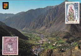 Valls D'Andorra, Vista General De Les Escaldes - Andorra