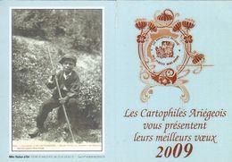 Petit Calendrier  Des Cartophiles Ariégeois  2009 - Small : 2001-...