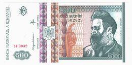 LOT119 - Banknote Romania 500 Cinci Sute Lei Constantin Brâncusi 1992 Banca Nationala A Romaniei - UNC - Romania