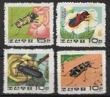 KOREA, NORTH 1963 INSECTS MNH - Autres