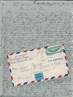 Etats-Unis - 1941 - Affr. P.A. 30c. Sur Lettre De Rockville Pour Schwerte A/ Ruhr - Contrôle De Censure Allemand - B/TB. - Briefe U. Dokumente