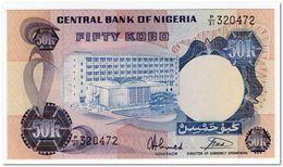 NIGERIA,50 KOBO,1973-78,P.14g,UNC - Nigeria