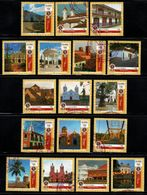 A807B - 2016- KOLUMBIEN.SET X 17 MNH STAMPS, COLOMBIAN BEAUTIFUL CITIES. ISSUED SOLD OUT. SCARCE - Colombia
