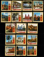 A807D - 2016- KOLUMBIEN.SET X 17 MNH STAMPS, COLOMBIAN BEAUTIFUL CITIES. ISSUED SOLD OUT. SCARCE - Colombia