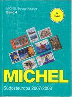 Michel Catalogue : Südosteuropa 2007 Europa-Katalog Band 4. Bulgarien Griechenland Kreta Rumänien Türkei Zypern (2 Scans - Postzegelcatalogus