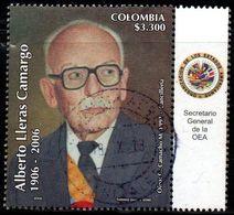 A211C - KOLUMBIEN - 2006- USED- PRESIDENT ALBERTO LLERAS CAMARGO - Colombia