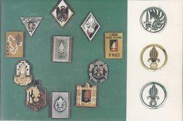 LEGION ÉTRANGÈRE  - Les Insignes Des Régiments Légion - Autres