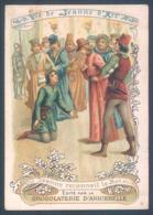 Lot De 9 Chromos La Vie De Jeanne D'Arc Chocolaterie D'Aiguebelle - Aiguebelle